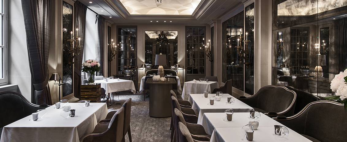 L'ecrin restaurant crillon paris