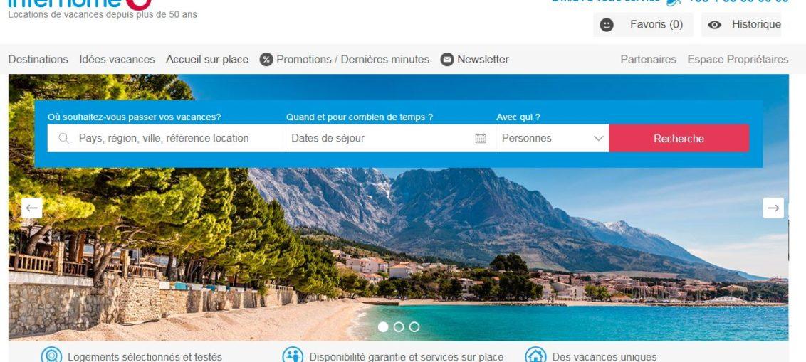 interhome home page